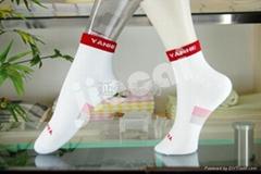 竹纖維抗菌女襪