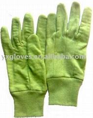 Cotton Jersey Garden& Safety Gloves