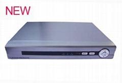 H.264 四路D1音频 硬盘录像机