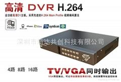 新H.264 八路D1硬盘录像机