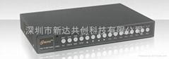 经济型彩色高清16路画面处理器