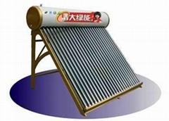 清大绿能福临门太阳能热水器