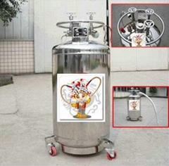50L Cryogenic Liquid Storage and Transport Tank
