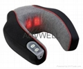 Neck massager with heating