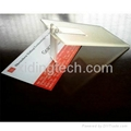 Business/Credit card USB Flash Drive,Customized Logo,Promotional 1