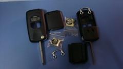 Suzuki flip remote key shell 2 button