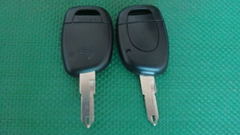 Renault remote key shell 1 button