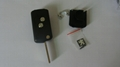 Peugeot 307 flip remote shell in 2button 1