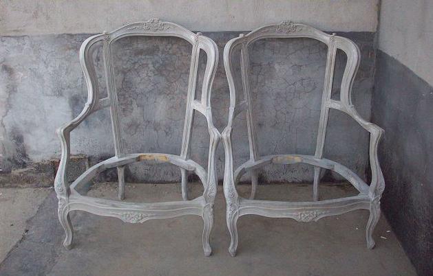 欧式贵妃椅白胚