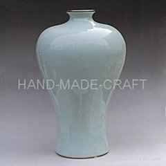 modelled after an antique woman beauty ceramic vase