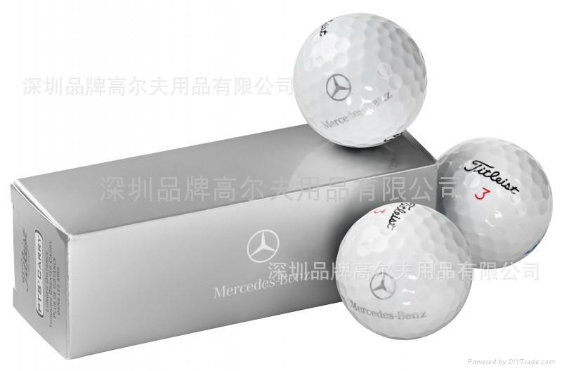 Mercedes Benz Customise Titleist Golf Ball China Services