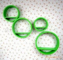 圓形展櫃四件套