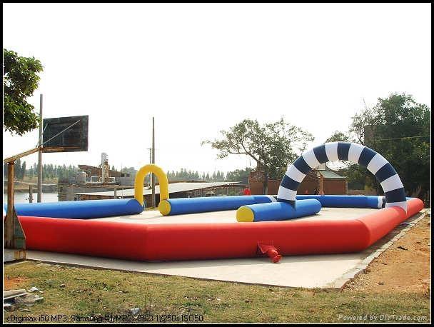 inflatable go kart track 1