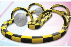 inflatable track