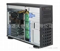 超微4U8盤位塔式服務器機箱