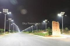 100% lighting--solar street light | 80% energy saving