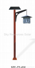 High quality solar garden light | 3-5 times longer anti-rainy days