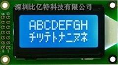 LCM0802B==車載音響功放專用液晶屏