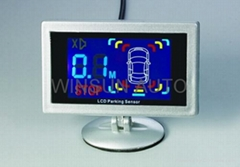 LCD parking sensor with CE-approved