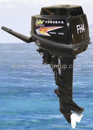Diesel outboard motor 10 hp 4 stroke manual start for 10 hp boat motors
