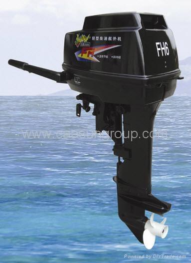 diesel outboard motor 18 hp 4