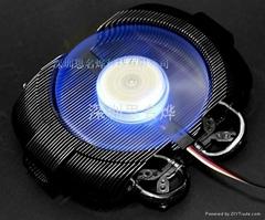 多式安装空位显卡散热风扇VF950 LED