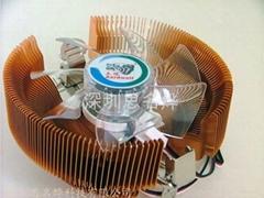 土狼压固工艺CPU散热器金麒麟CC92FJ