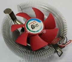超静音CPU散热器红杉CC80HS