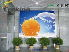 P7.62 Indoor RGB LED display screen