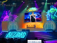 P10 Indoor LED stage background display