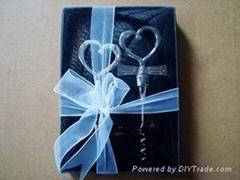 wine stopper gift set