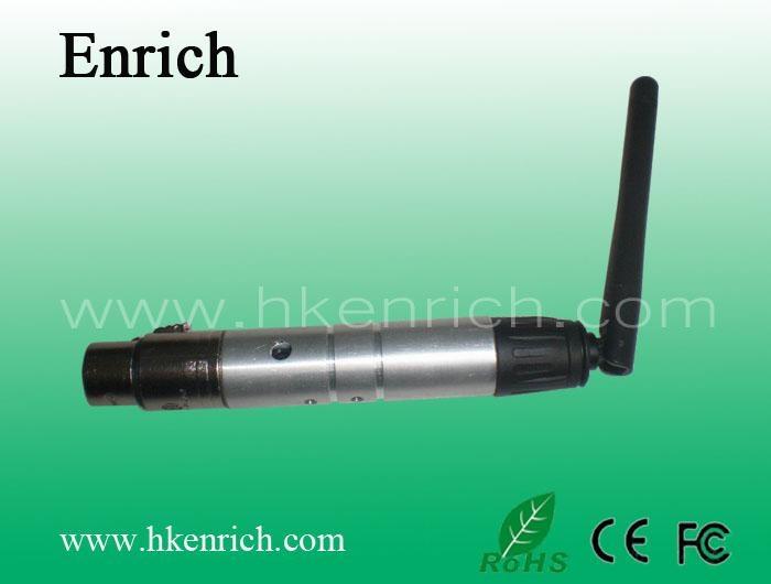 2.4G DMX 512 wireless reciever 1