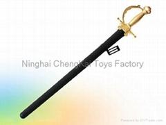 Western Sword toy with sheath