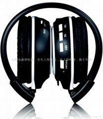 MP3 headphone for SD/TF Card