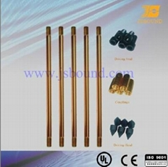 Copper clad steel grounding rod  Jsbound (JB-CA)