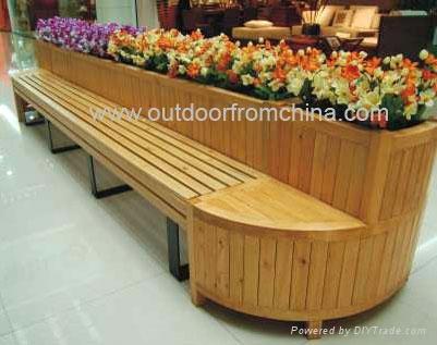 廣州精緻實木花箱 1