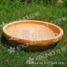 紅陶盆 2