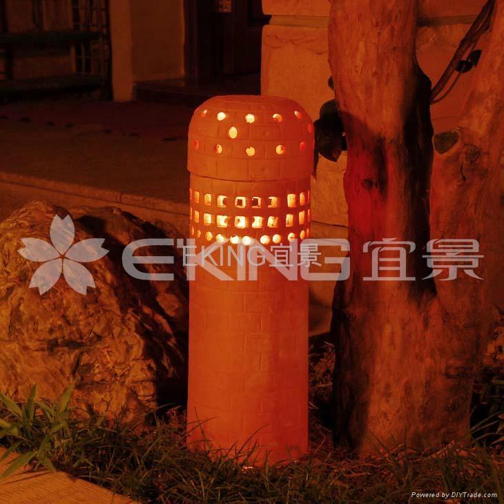陶燒城堡休閑裝飾燈 3
