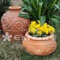 海浪紋陶罐 5