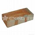 單面導角標準地面陶磚(淡黃色)