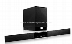 TV Soundbar with 2.4G wireless Subwoofer and LCD display(A50-989)