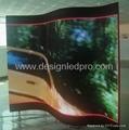 semi-flexible led screens -- magnetic