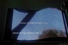P6mm Rubber semi-flexible indoor full