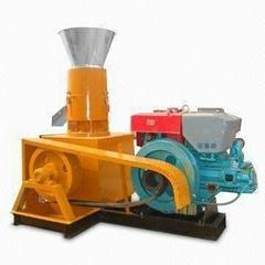 15HP SK-200E diesel pellet machine with 100kgs/h capacity