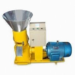 11KW K-200I flat die pellet machine with capacity of 100kgs/h