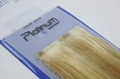 tape on hair extension skin weft PU