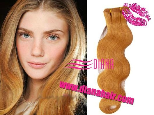 2011 tope fashion Brazilian Remy Hair Weft -wave style  3