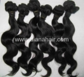 100% indian remy virgin hair weft