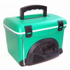 5-Liter Cooler Box with Radio