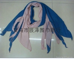 bunchy yarn scarf ,  scarf